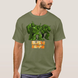 Mushi Swarm Green T-Shirt