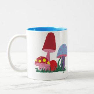 Mushies Two-Tone Coffee Mug