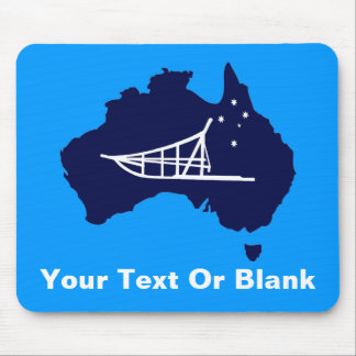 Mushing Down Under Mouse Pad