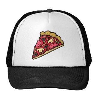 Mushroom and pepperoni pizza slice cap