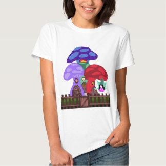 Mushroom Apartments with Fairy Gnome Shirt