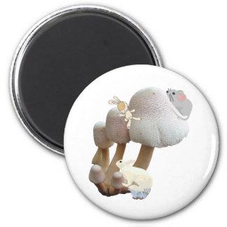 Mushroom Baby Toy Playground Magnet