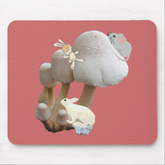 Mushroom Baby Toy Playground Mouse Pad