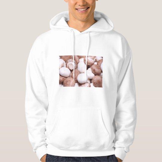 Mushroom background hoodie