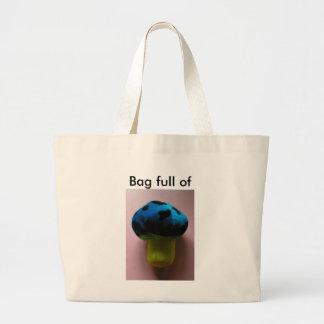 Mushroom Canvas Bags