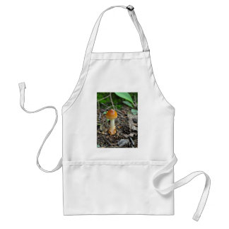 Mushroom Beauty Of The Composed Filament Adult Apron