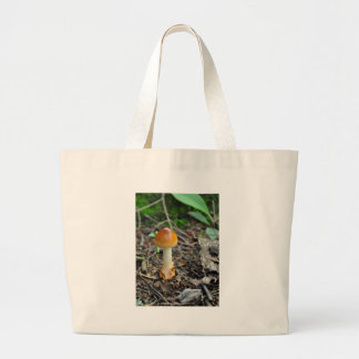 Mushroom Beauty Of The Composed Filament Large Tote Bag