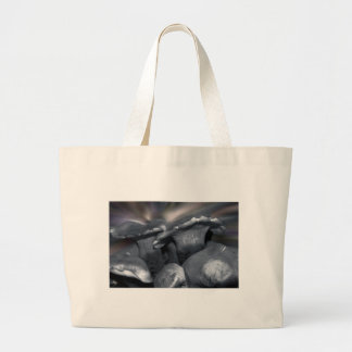 Mushroom Borealis - Add Your Store or Restaurant Large Tote Bag