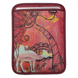 Mushroom Camel iPad Sleeve rickshawsleeve