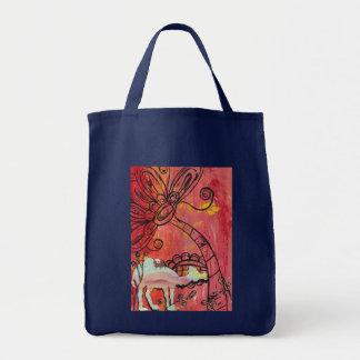 Mushroom Camel Tote Bag
