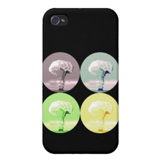 mushroom cloud Case-Mate iPhone 4 Covers For iPhone 4