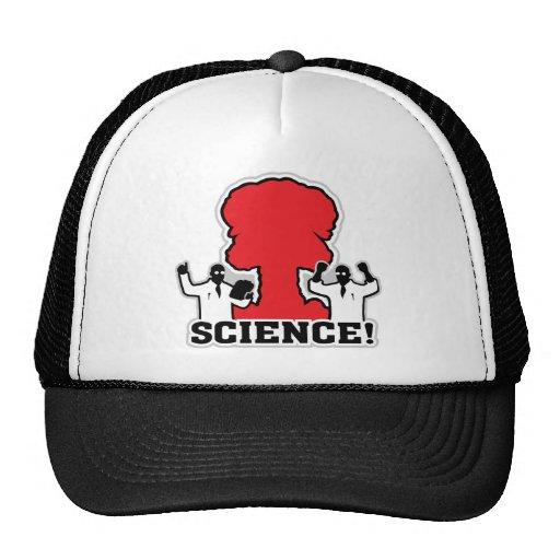 Mushroom Cloud Celebration ~Science! Trucker Hat