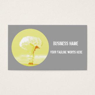 mushroom cloud  dynamic card