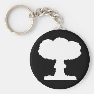Mushroom Cloud Key Chain