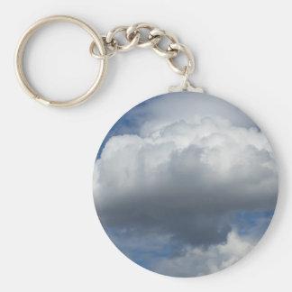 Mushroom cloud keychain