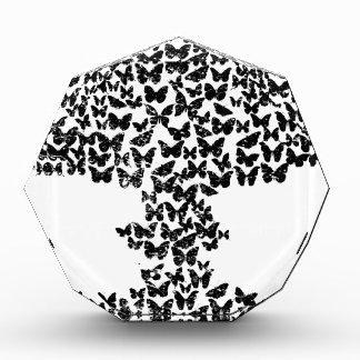 Mushroom Cloud of Butterflies Acrylic Award