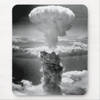 Mushroom Cloud Over Nagasaki -- WW2 Mouse Pad