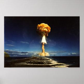 Mushroom Cloud Print