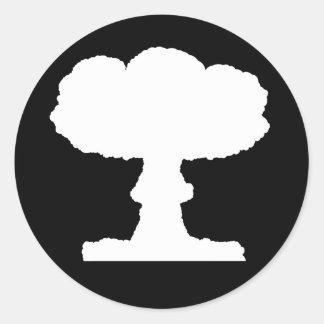 Mushroom Cloud Stickers