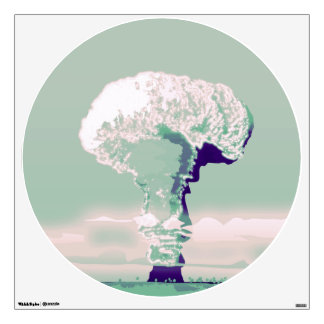 mushroom cloud Wall Decal