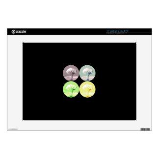 "mushroom cloud zazzle skin mac & pc laptop 15"" skins for laptops"