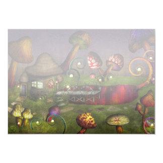 Mushroom - Deep in the Bayou 5x7 Paper Invitation Card