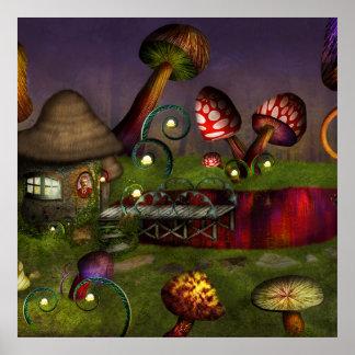 Mushroom - Deep in the Bayou Poster