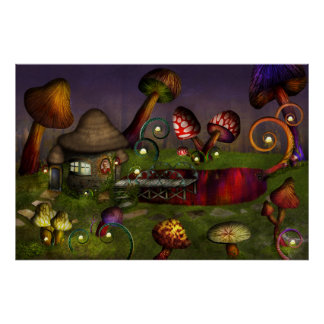 Mushroom - Deep in the Bayou Print
