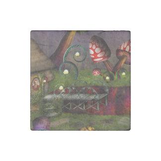 Mushroom - Deep in the Bayou Stone Magnet