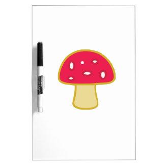 Mushroom Dry-Erase Whiteboards
