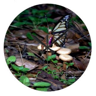 Mushroom Fairy Clock