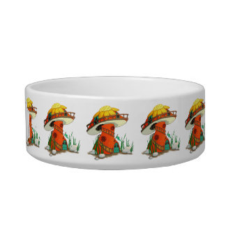 Mushroom Fairy House Bowl