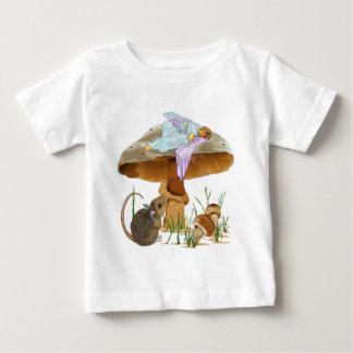 Mushroom Fairy & Mouse Baby T-Shirt
