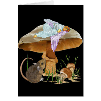 Mushroom Fairy & Mouse Cards