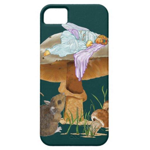 Mushroom Fairy & Mouse iPhone 5 Cover