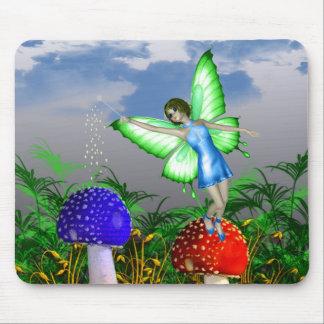 Mushroom Fairy Mousepad