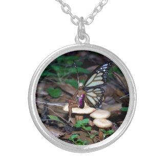 Mushroom Fairy Necklace