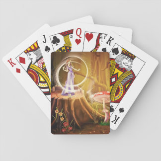 Mushroom Fairy Playing Cards