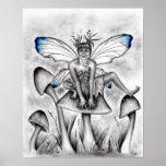 Mushroom Fairy Poster