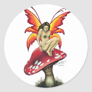 Mushroom fairy Stickers Sticker