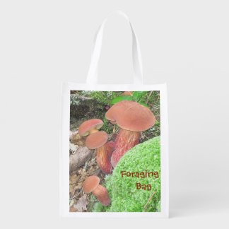 Mushroom Foraging Tote Bag Market Tote