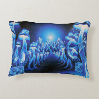 Mushroom Forest Accent Pillow