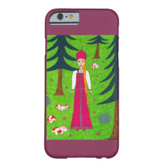 Mushroom Forest Barely There iPhone 6 Case