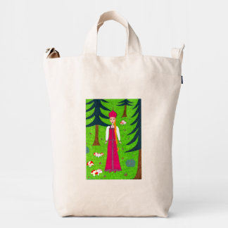 Mushroom Forest Duck Bag
