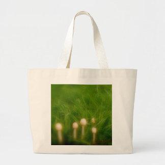 Mushroom Forest Large Tote Bag