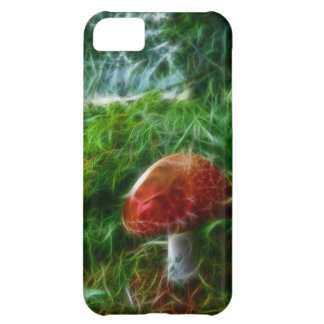 Mushroom Fractal Forest iPhone 5C Covers