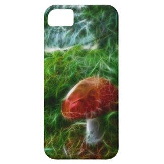 Mushroom Fractal Forest iPhone 5 Cases