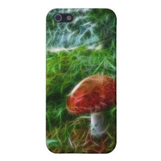 Mushroom Fractal Forest iPhone 5 Case