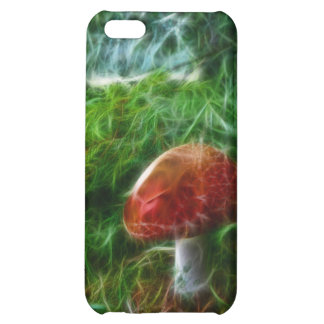 Mushroom Fractal Forest iPhone 5C Case