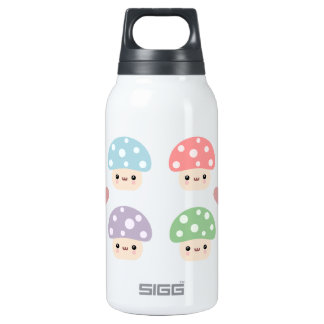 Mushroom Friends 10 Oz Insulated SIGG Thermos Water Bottle